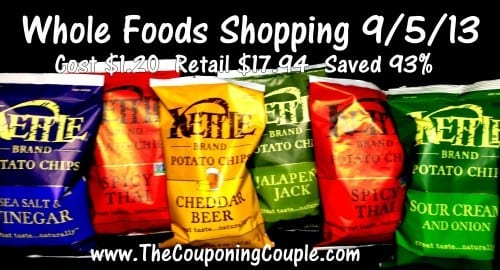 Whole Foods Couponing Trip on 9-5