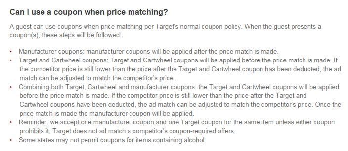 coupon-when -price-matching-at-Target