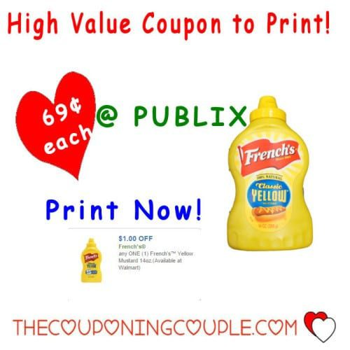 High Value French's Mustard Coupon