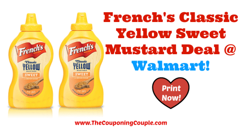 French's Classic Yellow Sweet Mustard Deal