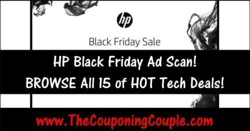 HP Black Friday Ad ~ BROWSE All 13 Pages!