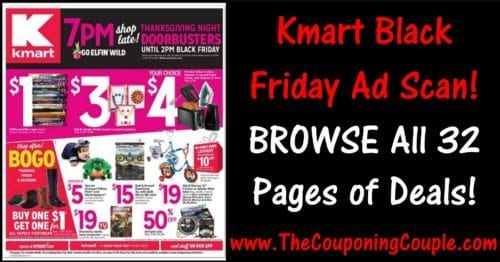 Kmart Black Friday 2016 Ad ~ BROWSE All 32 Pages!