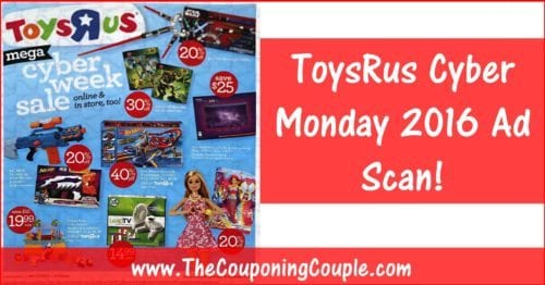 ToysRus Cyber Monday 2016 Ad ~ BROWSE All 12 Pages!