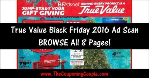 True Value Black Friday Ad Scan 2016