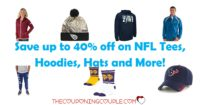 NFL Tees, Hoodies, Hats! As Low As $4.55! Great Gift Ideas!