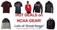 40% Off NCAA Gear! Perfect for the Fan!