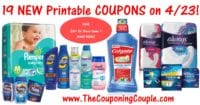 19 NEW Printable Coupons