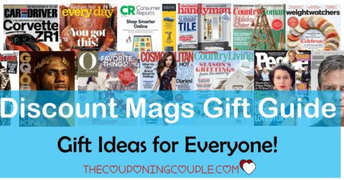 Discount Mags Gift Guide