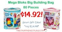 Mega Bloks First Builders Big Building Bag- ONLY $14.92 (reg $24.99)!