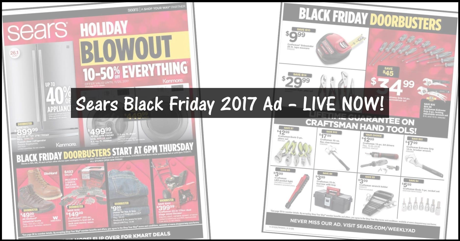 Sears Black Friday Ad 2017