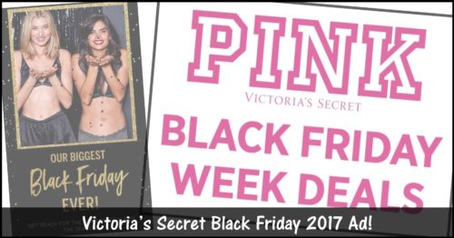 Victoria's Secret Black Friday Ad 2017