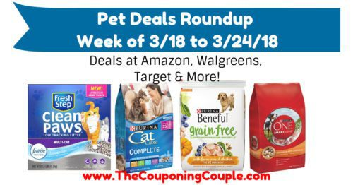 Pet Deals Roundup for the Week of 3-18