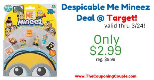 Quick Deal on Despicable Me Mineez