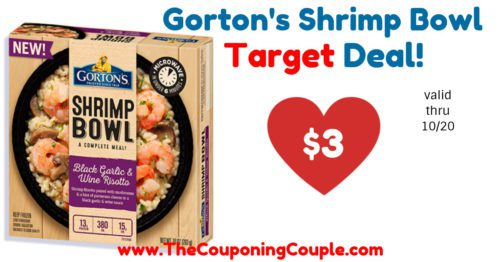 Great Deal on Gorton's Shrimp Bowls