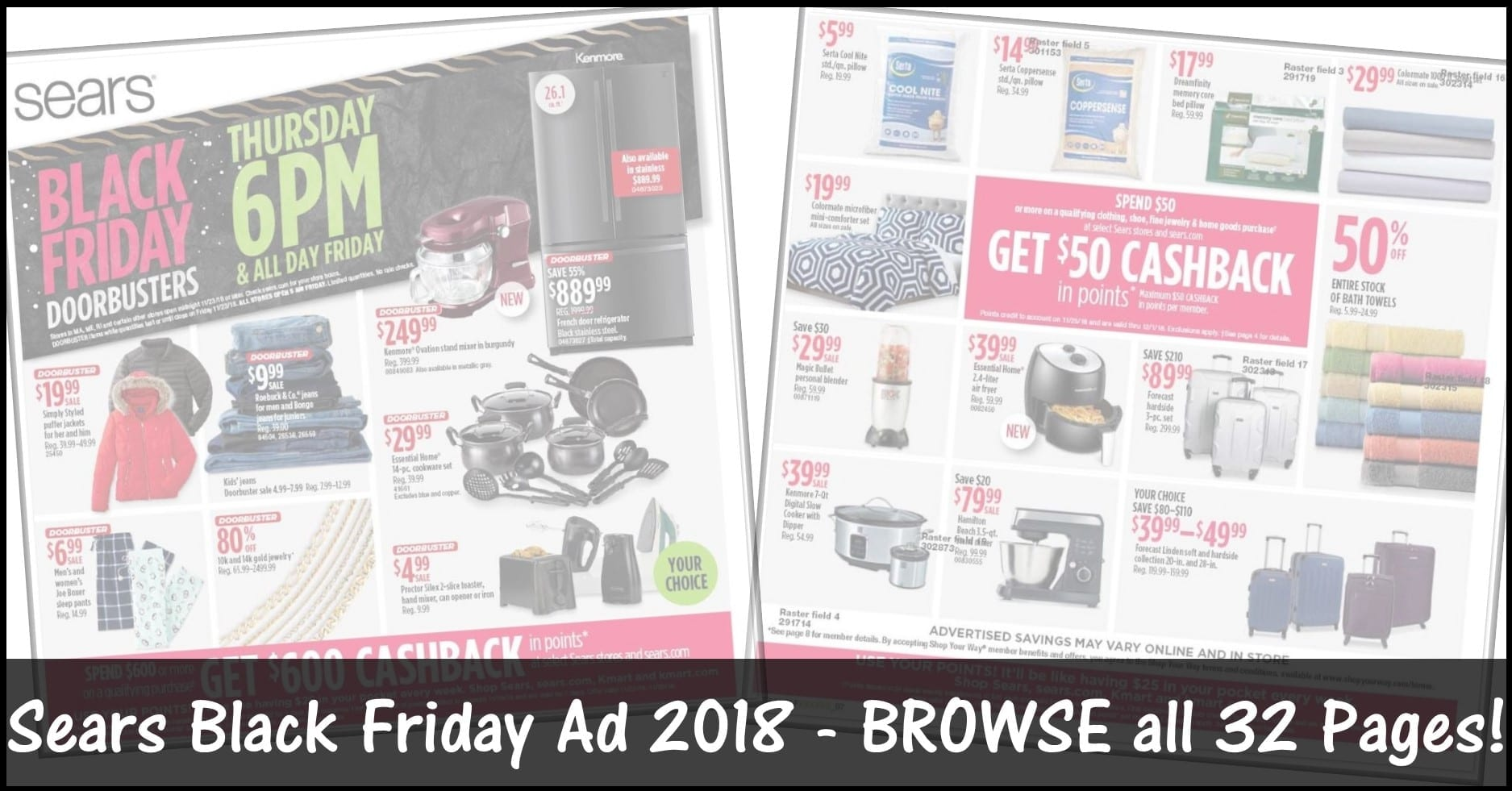 Sears Black Friday Ad 2018