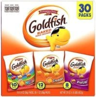 Pepperidge Farm Goldfish Crackers, Variety Pack, Box Of 30 -$9.48