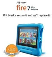 Fire 7 Kids Edition Tablet, Kid-Proof Case - $59.99! Best Price! Gift Idea!