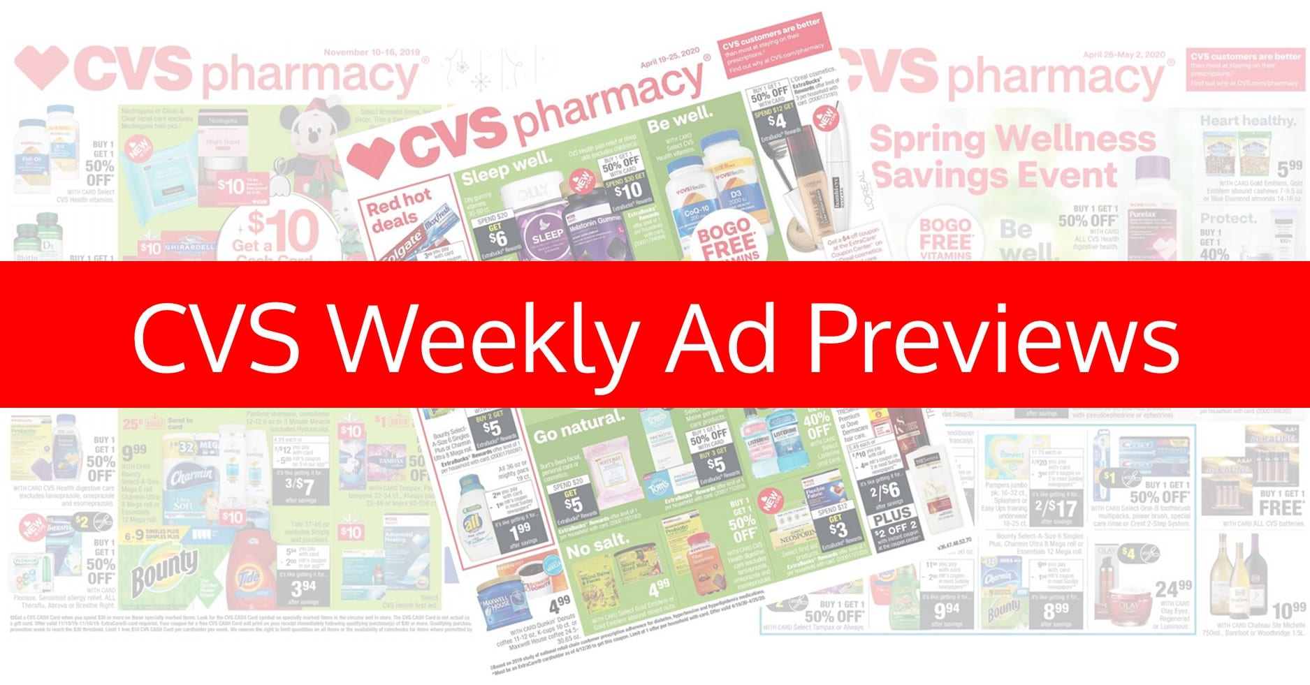CVS Weekly Ad, CVS Ad Preview, CVS Ad Sneak Peek