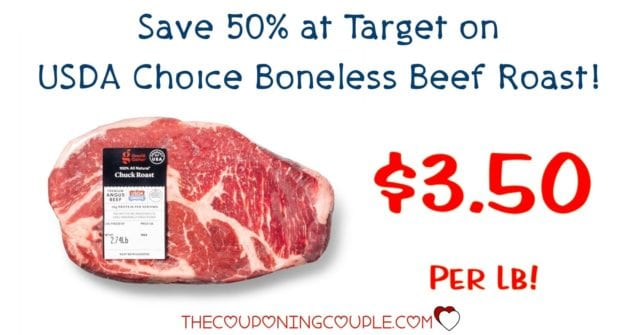 USDA Choice Boneless Beef Roast