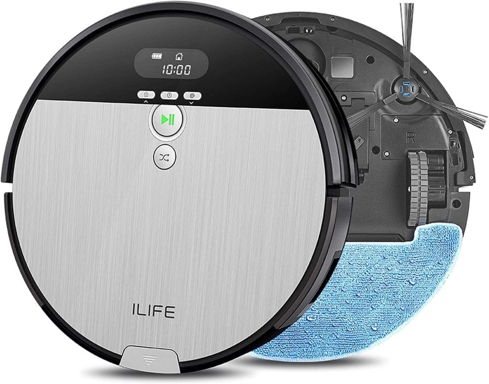 ILIFE V8s 2-in-1 Mopping Robot Vacuum - ONLY $139.99!