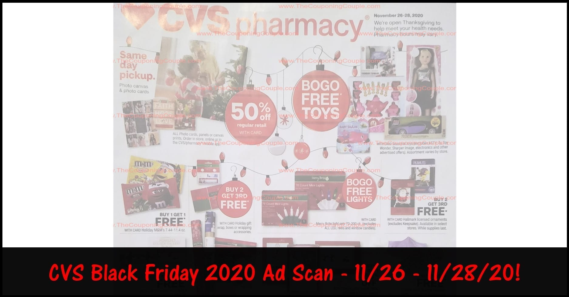 CVS Black Friday Ad 2020 ~ Few FREEBIES in the CVS Black Friday Sale