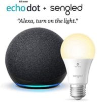 Echo Dot (4th Gen) PLUS Smart Bulb - ONLY $28.99 Shipped!
