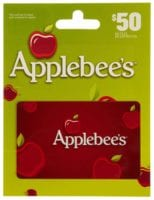 $50 Applebees Gift Card for Only $40! Gift Idea!