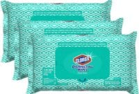 Clorox Disinfecting Bleach Free Cleaning Wipes, 75 Wipes, Pack of 3 - $11.37