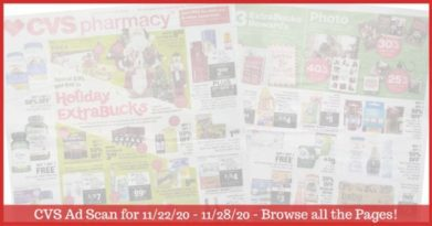 CVS Ad Preview (11/22/20 - 11/28/20): Early CVS Weekly Ad Preview