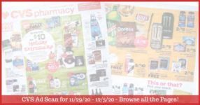 CVS Ad Preview (11/29/20 - 12/5/20): Early CVS Weekly Ad Preview