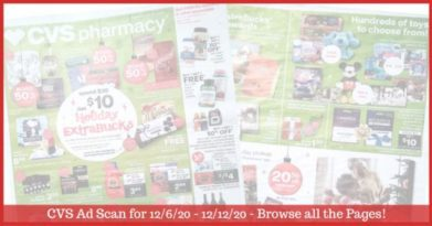 CVS Ad Preview (12/6/20 - 12/12/20): Early CVS Weekly Ad Preview