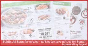 Publix Ad Preview 12/2/20 - 12/8/20 (or 12/3-12/9/20 for Some)
