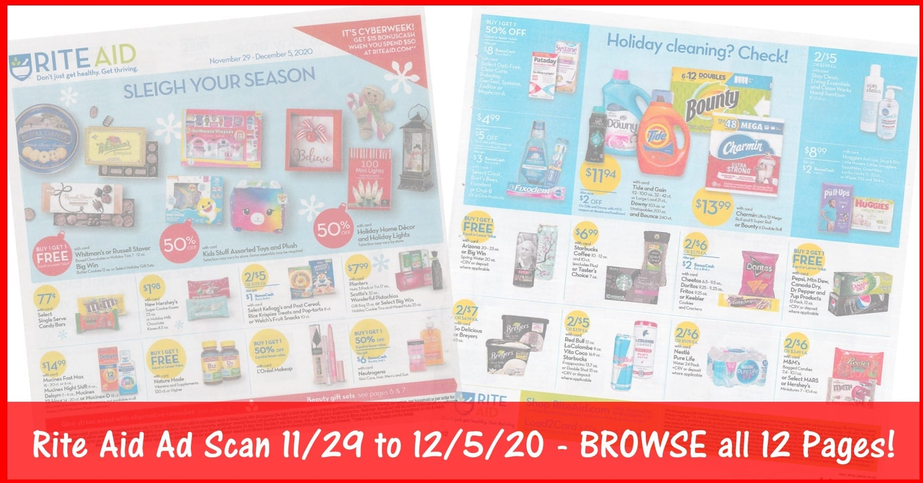 Rite Aid Weekly Ad (11/29/20 - 12/5/20): Early Rite Aid Ad Preview