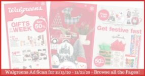 Walgreens Ad (11/15/20 - 11/21/20): EARLY Walgreens Ad Preview