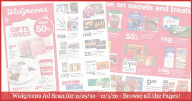 Walgreens Ad (11/29/20 - 12/5/20): EARLY Walgreens Ad Preview